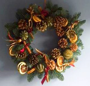 Christmas Wreath Making Workshops @ Alexandra Nurseries